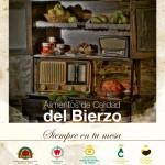 Anuncio conjunto de los Alimentos de Calidad del Bierzo
